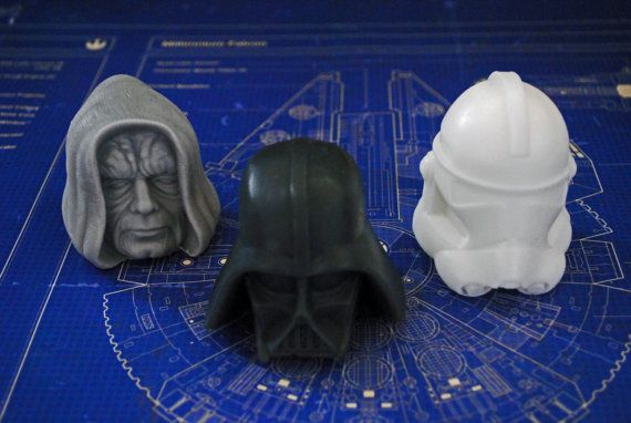 Handmade Star Wars Character set  Emperor Darth Vader by NerdySoap
