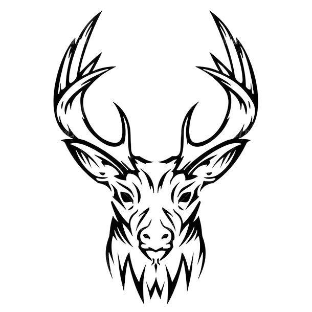 25 best ideas about deer head tattoo on pinterest deer