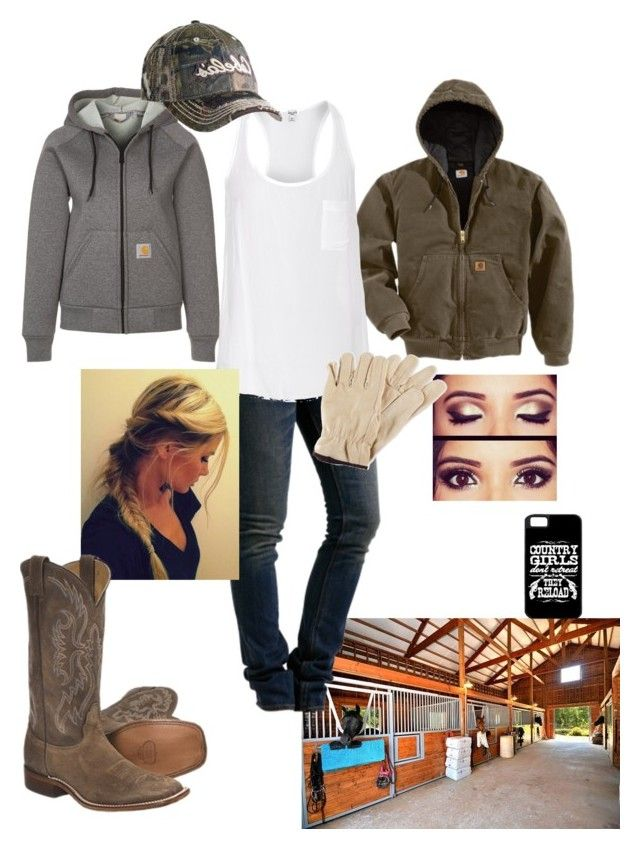 Work by taylor-125 on Polyvore featuring polyvore, fashion, style, Splendid, Carhartt, WeSC, Nocona and LaMont