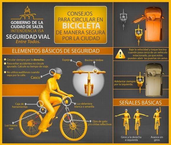 seguridad vial         consejos para circular en bicicleta de manera segura por la ciudad 1