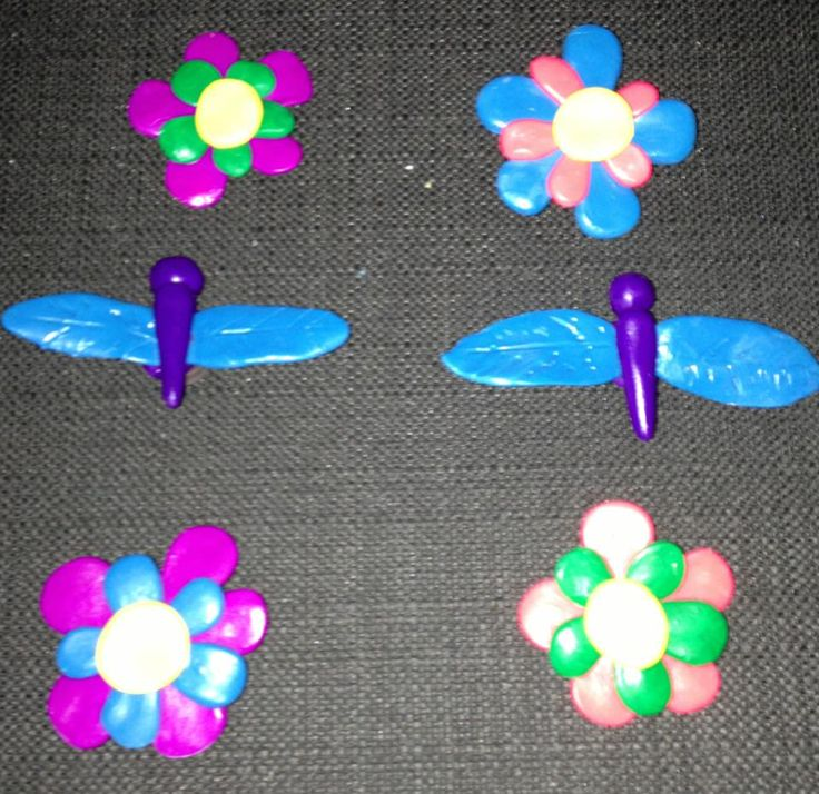 flower and dragon magnets = 2$ each