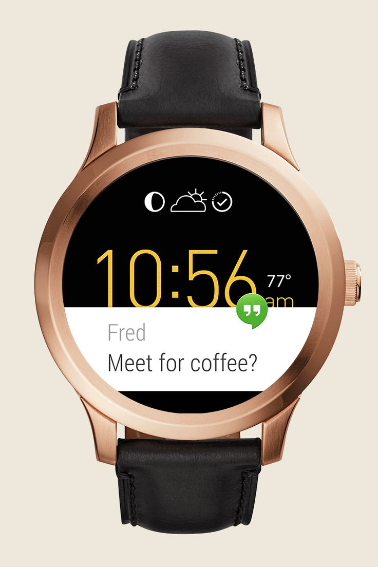 Picking accessories to match your next outfit is easy when you have a Q Founder. Customizable watch faces along with smartphone notifications and activity tracking make this smartwatch our go-to daily essential. Check out the full Q Wearables line here!