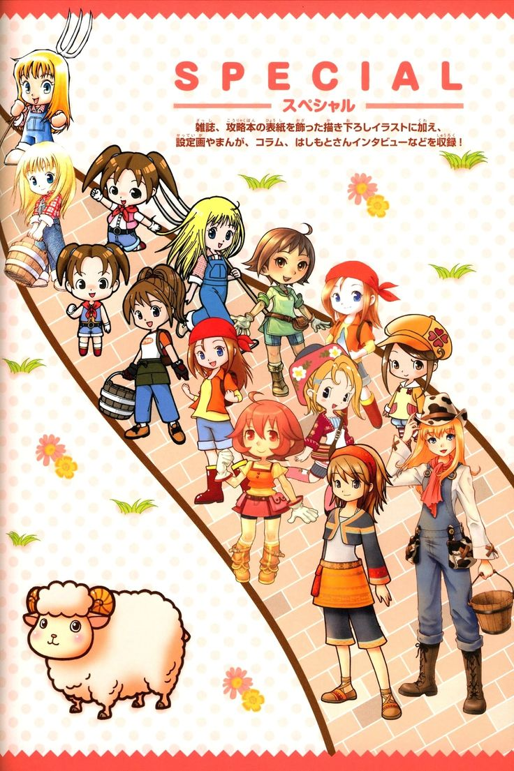 Heroine in Harvest Moon