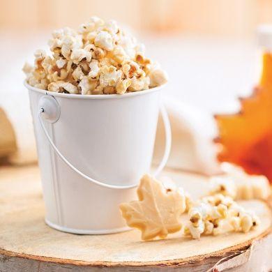 Pop corn caramélisé à l'érable - Nutrition - Cuisine et nutrition - Pratico Pratique