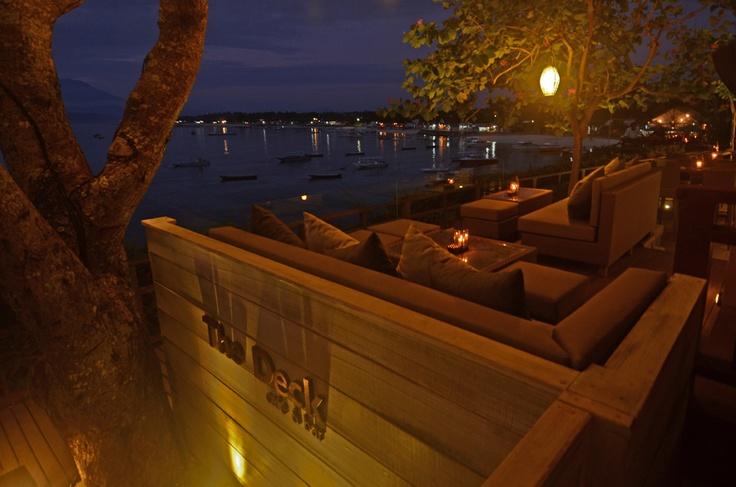 Lounge with a view!  www.batukaranglembongan.com
