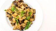 vegansk auberginedip oppskrift