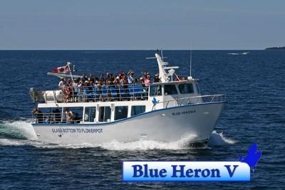 Flowerpot Island – Glass Bottom Cruise aboard the Blue Heron V