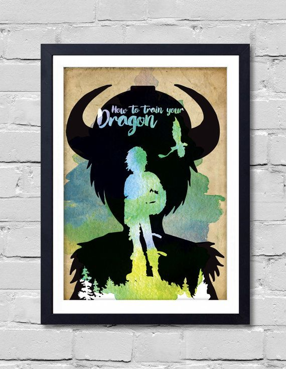 9 best how train your dragon images on pinterest how to train how to train your dragon poster by postershot on etsy ccuart Gallery