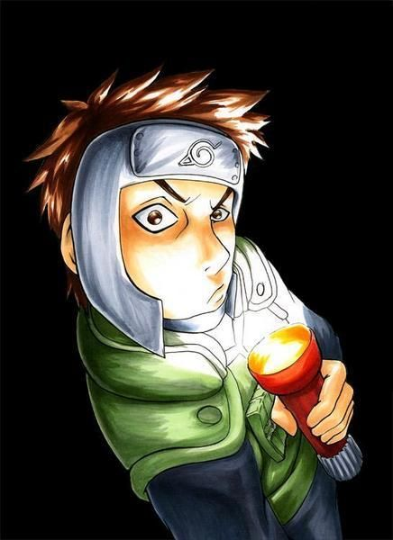 Yamato and his scary face #naruto