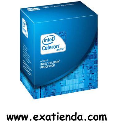 Ya disponible Cpu Intel s 1155 celeron g1610 2.6ghz box   (por sólo 48.87 € IVA incluído):   - Socket soportado:LGA1155 - Cache: L3 Shared 2 MB - Numero de nucleos: 2 - Conjunto de instrucciones: 64-bit - Velocidad de Reloj: 2,60 GHz - Bus del Sistema: 5 GT/s DMI - Arquitectura: 22nm - Intel Graphics:SI - Formato: BOX Garantía de 24 meses.  http://www.exabyteinformatica.com/tienda/3336-cpu-intel-s-1155-celeron-g1610-2-6ghz-box #intel #exabyteinformatica