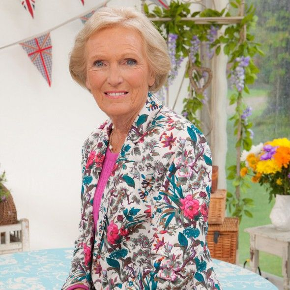 Mary Berry's husband suggests she WON'T be joining the Great British Bake Off on…