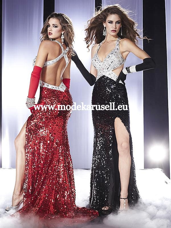Designer Sexy Abendkleid  www.modekarusell.eu