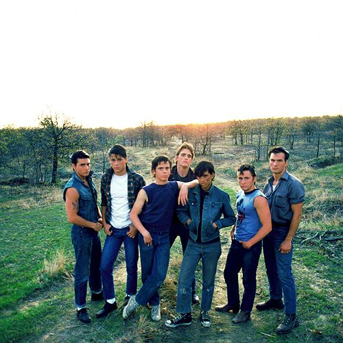 The Outsiders  the quintessential grade eight novel, taught it for so many years, kids always loved it.  Thank you S. E. Hinton !!