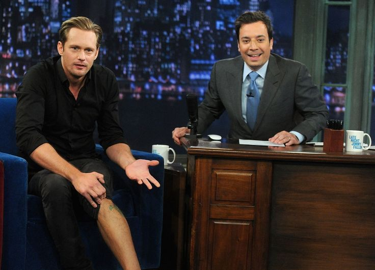 ~5/13/13~ Alexander Skarsgard on Jimmy Fallon (talks family, bird tattoo and What Maisie Knew)  http://vimeo.com/65499425