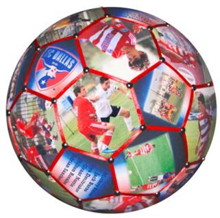 Our Photo Soccer Ball is the perfect personalized gift for a great soccer coach or your special soccer player.  Using all 32 panels of a regulation size #4 soccer ball we'll combine your team and individual photos, logos, players names and other text and create a unique one-of-a-kind gift.