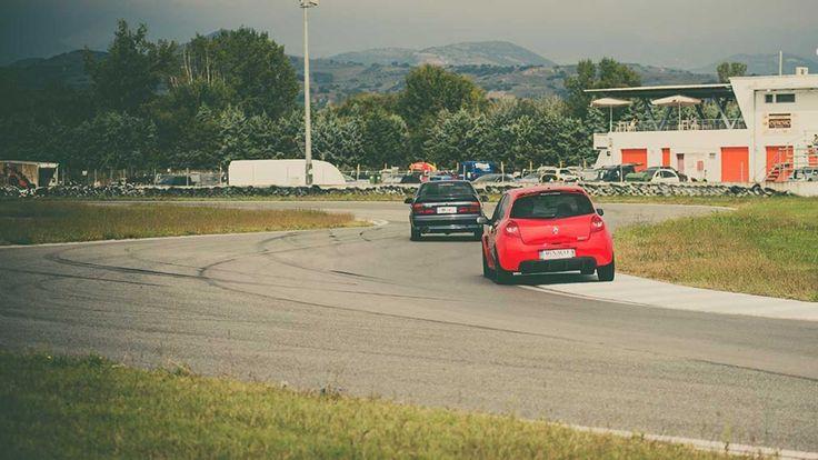 Στο track day με τα Renault