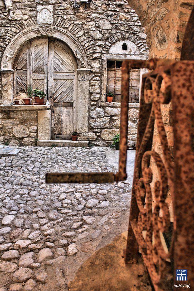 Kalamoti village . Chios island