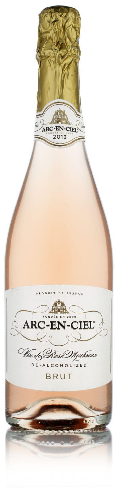 Arc-en-Ciel Sparkling Rosé - Non alcoholic