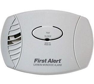First Alert Carbon Monoxide Plug-in Alarm