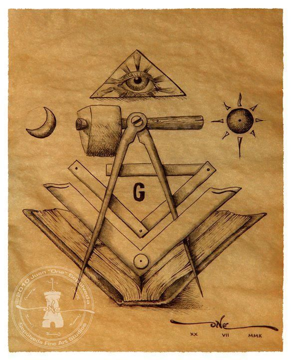 freemason tattoo ideas | Elementos masónicos
