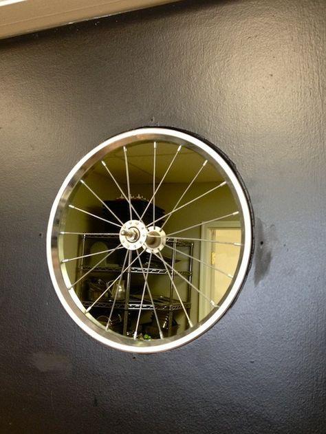 Reciclar, Reutilizar y Reducir : 17 geniales ideas para reutilizar una rueda de bicicleta