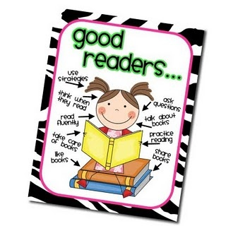 great poster.Polka Dots, Anchor Charts, Reader Posters, Reading Posters, Languages Art, Readers Notebook, Flip Flops, Good Reader, Anchors Charts