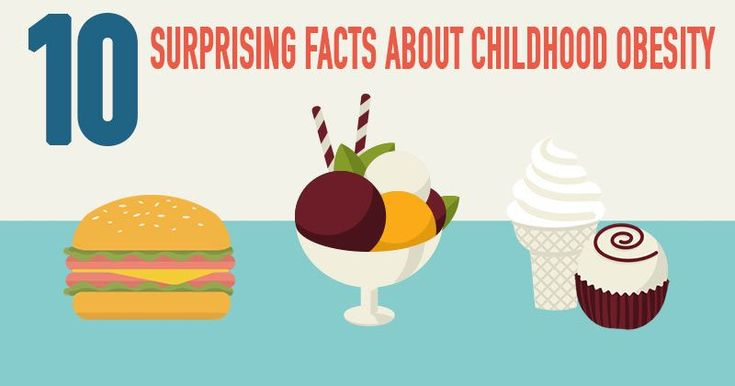 10 Surprising Facts About Childhood Obesity #ChildNutrition