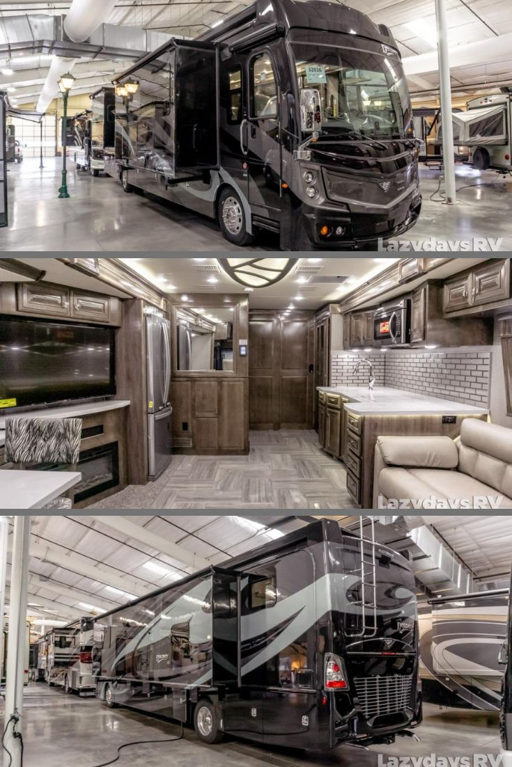 Behold the Fleetwood RV Discovery LXE!