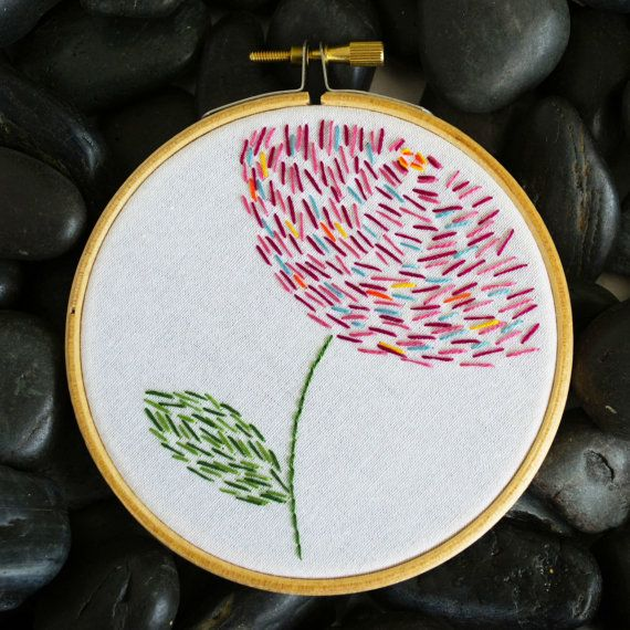 Finally you have found the secret to a moment of peace and who knew it could be found in an embroidery hoop.