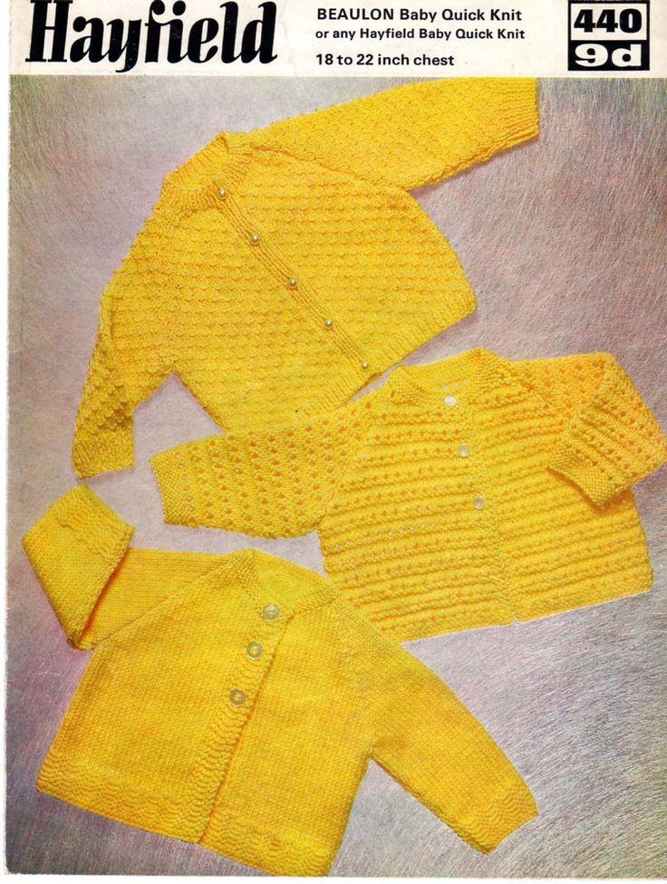 Baby Jacket Pattern QK pattern Quick Knit Baby Knit от Pinknitting