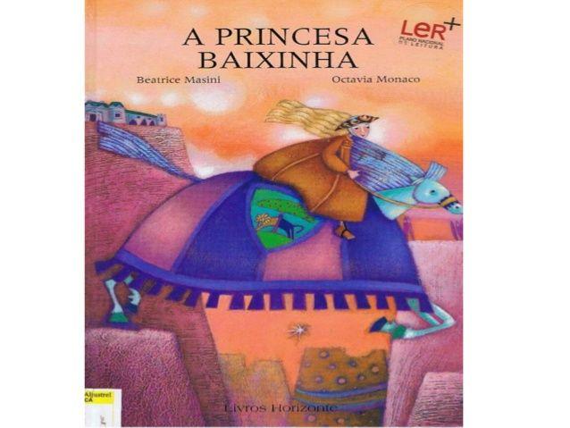 A princesa baixinha power point