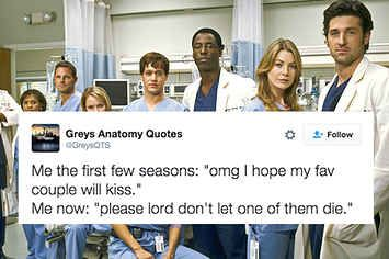 """23 Hilarious Tweets That Are Way Too Real For """"Grey's Anatomy"""" Fans"""
