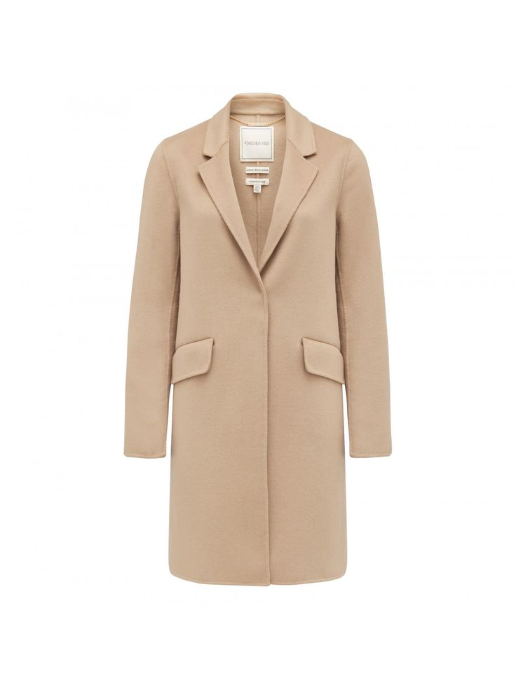 Layer up in style with our Elsa Relaxed Crombie Coat, perfect to add a little polish to any ensemble.