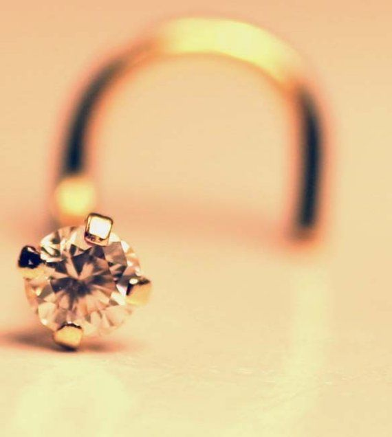 Yes. I'd like a diamond nose stud for my wedding. :) Make it 18k and 22 gauge though... ;)