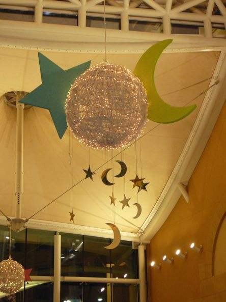 Ramadan decoration  Awesome!!! Highly recommend checking out supermama website and pinterest! Total overall amazing work!