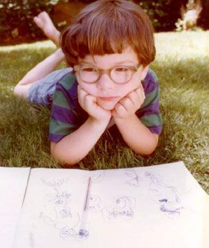 Age 3 Seth Macfarlane. Cutie.
