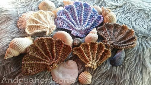 Ravelry: Scallop Shell Motif pattern by Loren G