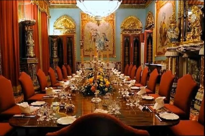 Buckingham Palace - The Chinese Dining Room | Interiors ...