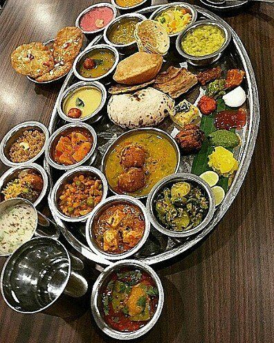 The Great Indian Thali. Picture by @creamandcrackle #indianfood #itstoomuch #royal #foodie #Delhi #foodacholic #Delhilove #repost #hungry #tasteofindia #Delhigram #delight #yummy #allinone #citydost #sweets #justeat by city.dost #Connaught_place #Delhi #IncredibleIndia