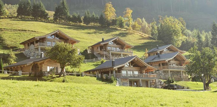 Dorf - Woodridge Luxury Chalets in Werfenweng / Salzburg