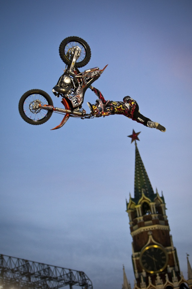 Alexei Kolesnikov at the Russian X Games