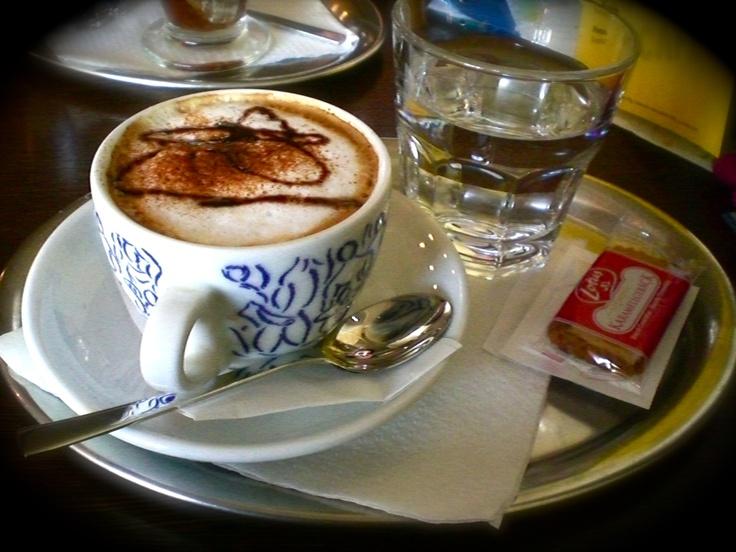 cappuccino @ a bratislava cafe
