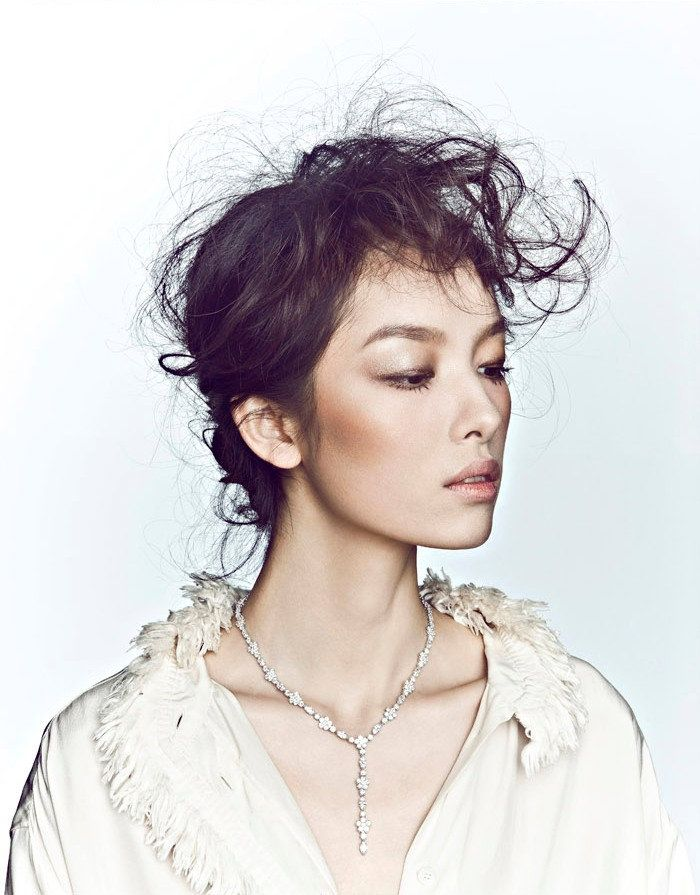 Fei Fei Sun for Elle China December 2010 by Zack Zhang