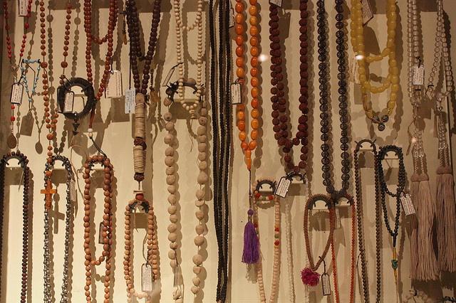 Old Beads - Pitt Rivers Museum by noriko.stardust, via Flickr