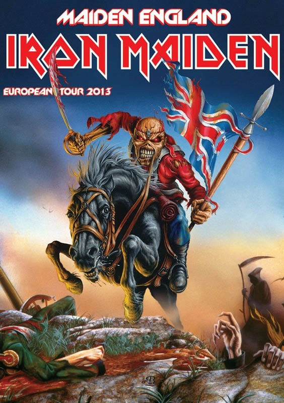 Iron Maiden performs at the Bridgestone Arena Sept. 5. Tickets on sale Saturday, Apr. 13 at http://www.nowplayingnashville.com/page/TicketsOnSale664