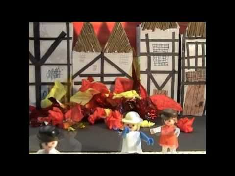 Intro animation video to the great fire of London made by kids
