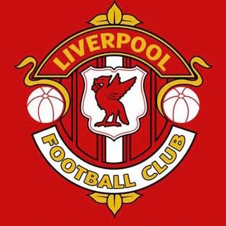 Liverpool Football Club. Country: England, United Kingdom. Foundation: 1892. Bagde: merchandise crest 1947 - 1970.