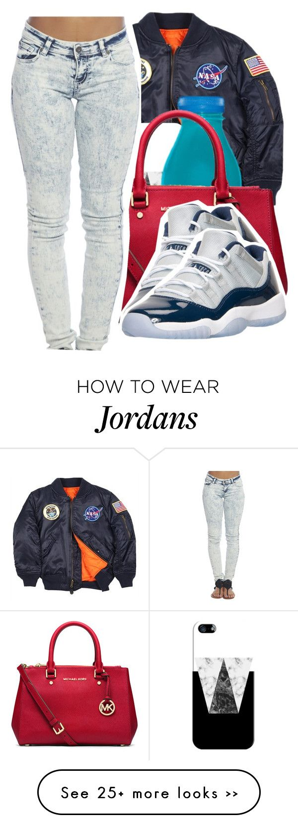 """"" by offiiciialkennedy on Polyvore featuring Alpha Industries, Casetify, MICHAEL Michael Kors and Wet Seal"