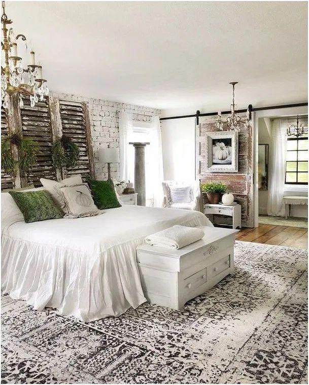 31 Farmhouse Rustic Master Bedroom Ideas