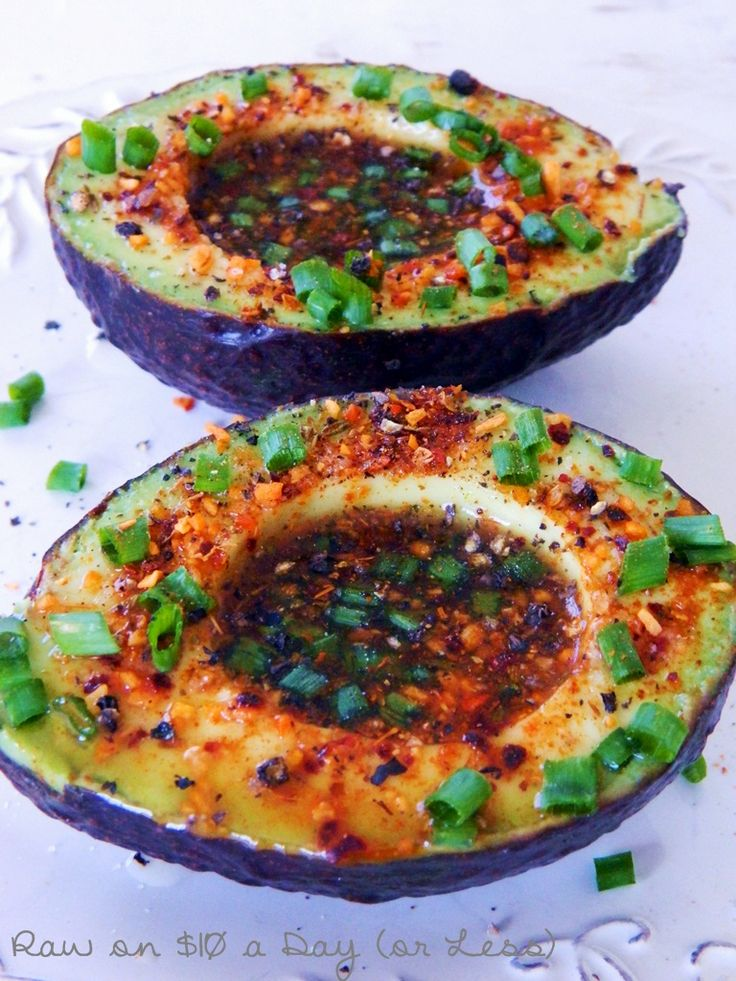 Raw Food Recipes | Raw on $10 a Day (or Less!): Lime Chipotle Avocados ~ Raw Food Recipe